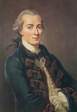 Philosopher Immanuel Kant