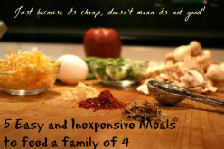 5 Easy and Inexpensive Meals to Feed a Family of 4