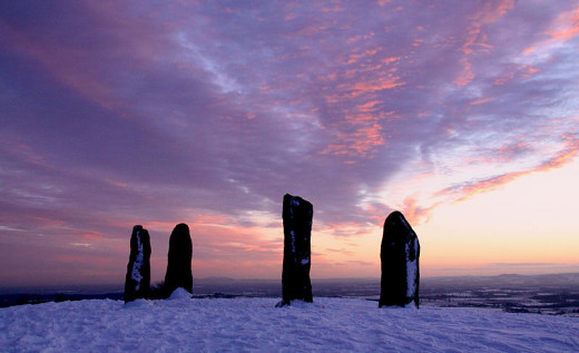 Many people still visit traditional ancestral places at the time of the winter solstice.