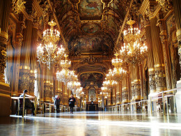 Grand foyer of Palais Garnier‎