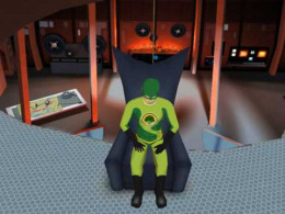 Captain Broccoli, superhero (or villain?) musicologist.  Surveillance video of his attempts to explain non-chord tones to BoomBox Boy are linked at the bottom of this Hub.