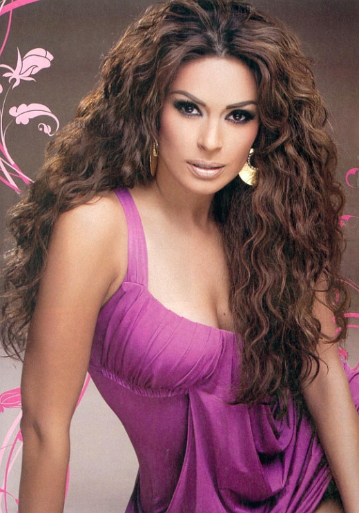Beautiful Latina Actress - Galilea Montijo