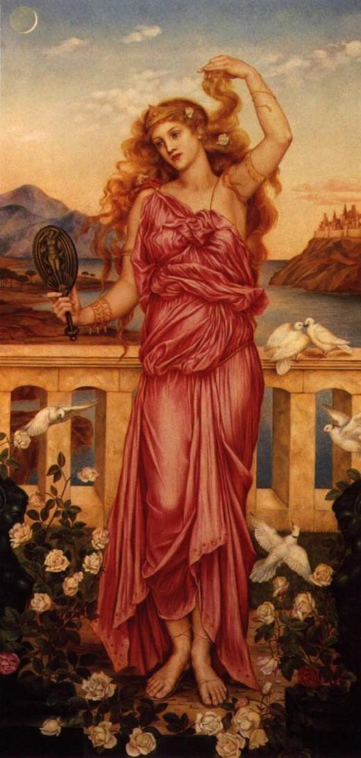 Helen by Evelyn de Morgan