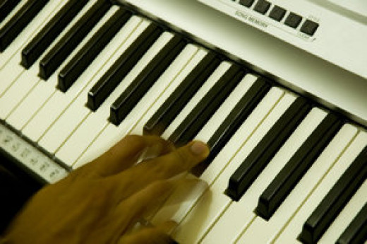 Though I am not very good I enjoy playing the piano and organ.