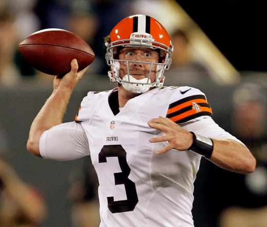 Brandon Weeden has been a stable and reliable option leading the Browns to a three game winning streak!