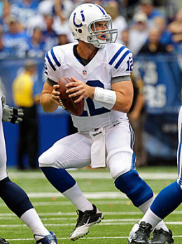 Andrew Luck may be one of the best QB's in the NFL already and has led the Colts to nine wins and a possible playoff berth in his first season.