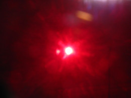 Using a red filter I captured this image of our Sun with an unusual anomaly near it.