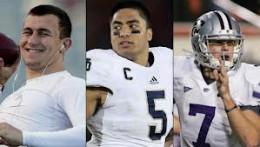 Heisman Trophy finalists: Johnny Manziel, Manti Te'o and Collin Klein