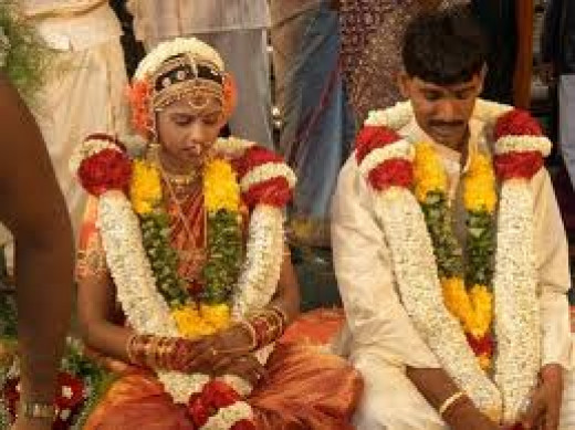 An Indian (Hindu) wedding.