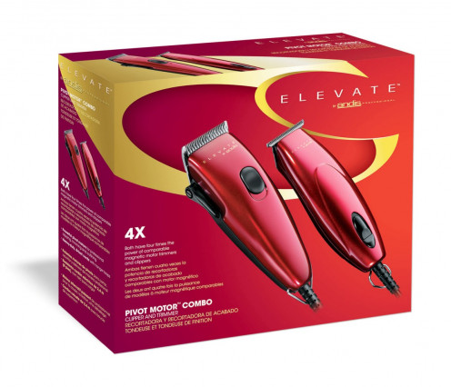 Andis 23975 PM-1 Elevate Pivot Motor Clipper And Trimmer Combo