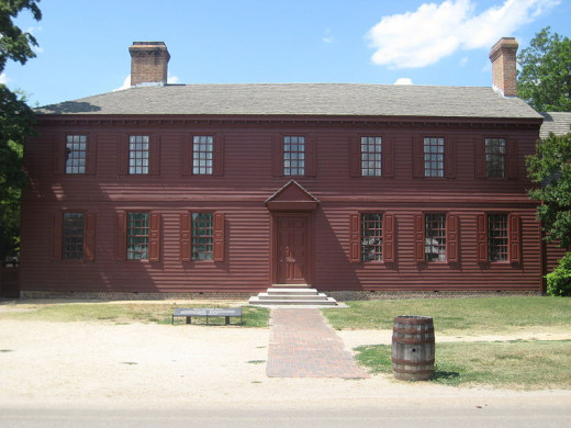 The Peyton Randolph House in the heart of Colonial Williamsburg