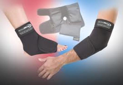 Combination Cold and Compression wrap