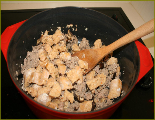 Low cholesterol turkey and chicken