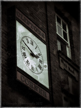 The clock at the town centre!