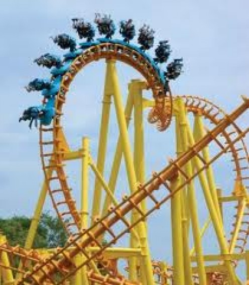 Cedar Point in Sandusky, Ohio has many roller coasters for thrill seekers. It has over 100 attractions.