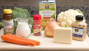 Low fat soup ingredients