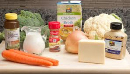 Low fat soup ingredients