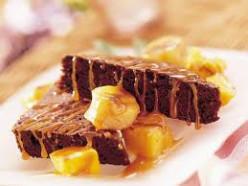 Pineapple Caramel Brownies