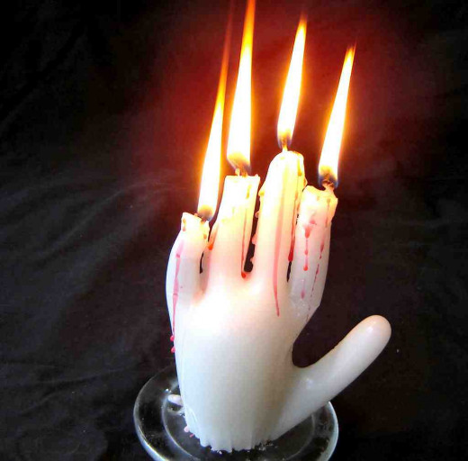 Hand of Glory Candles  instructables.com