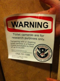 Why Does The Department Of Homeland Security Need To Watch Me Pee?