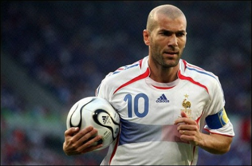 Zidane at the 2006 World Cup. The famous and dramatic end of legendary career...