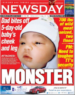 "MONSTER Man ate his own five day old baby ""shocking News"""