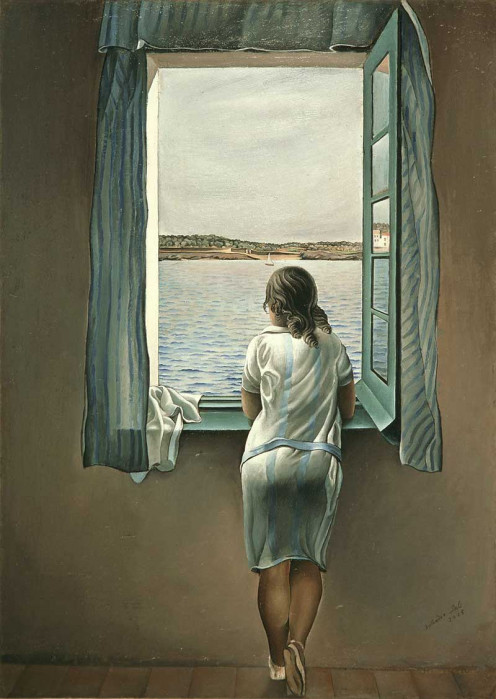Salvador Dali: Woman at the Window at Figueres, 1926