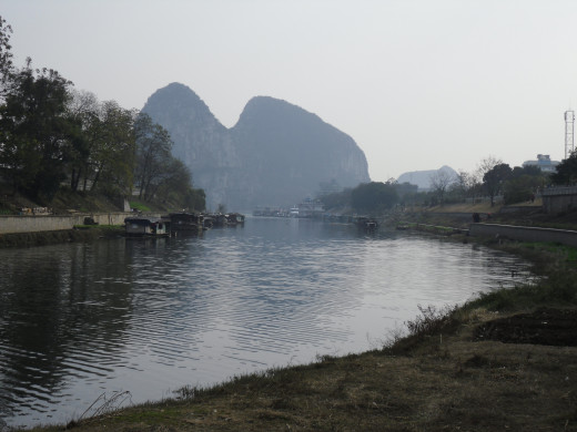 River view in Guilin