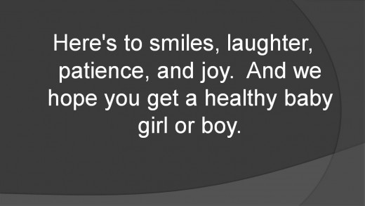 expecting baby girl quotes