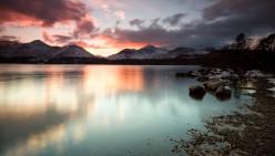 Stunning Winter Mountain Landscape Wallpapers