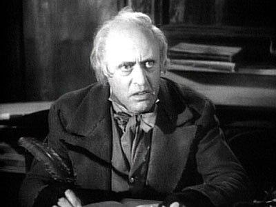 Alastair Sim as Scrooge
