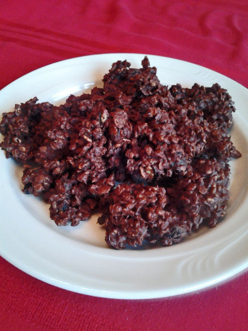 Chocolate Cherry Crisp Drops