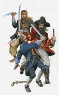 Pirates Celebrating Christmas