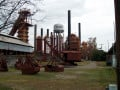 Alabama's Sloss Furnace; Metal Arts and Blacksmith Training in Birmingham's Deep South