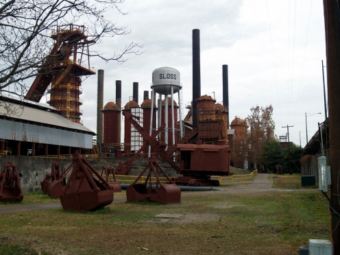 The only remaining blast furnace site in the United States is now the mecca of metal arts in the Southeast.