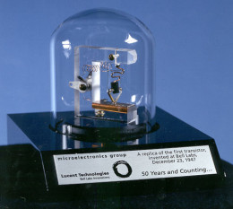 A Replica of First Transistor
