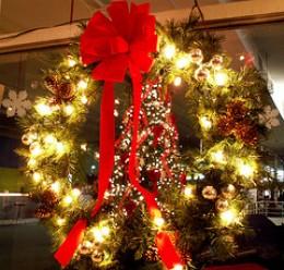 Pretty Christmas wreath!