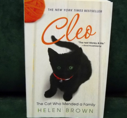 Helen Brown uses her life experiences to produce a New York Time's Bestseller, Cleo.