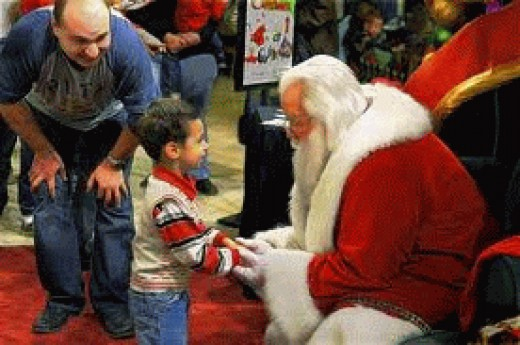 Santa's PR team have just released some lovely photo's.