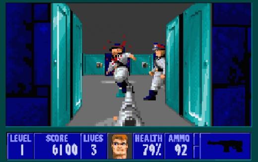 Wolfenstein 3D - Released in 1992