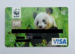My WWF credit card (with details blanked out.)