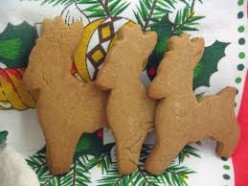 The Cook in Me:  Cut that Out!  Danish Brown Sugar Cut-Out Cookies (Sirups Kager)©