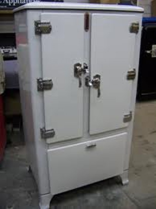 The Old Zinc-lined Refrigerator