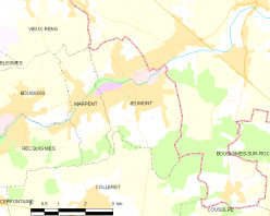 Map location of Jeumont, France