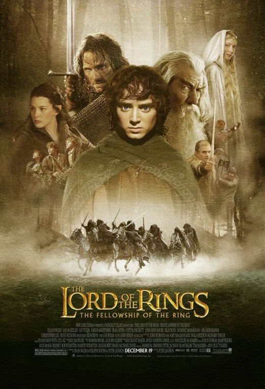 The Fellowship of the Ring (2001) poster