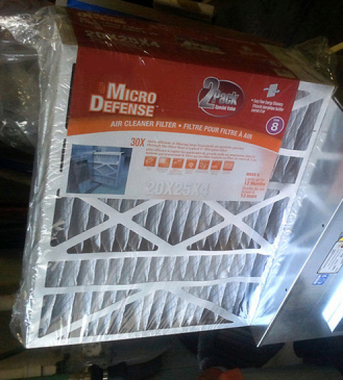Replace your air filters every three months during heavy use.