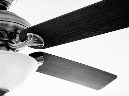 Changing ceiling fan direction will improve the efficiency of your AC and furnace.