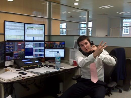 Enterprising people often become stock brokers