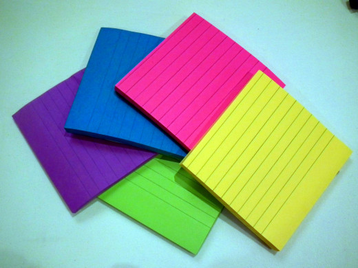 Try colour coding your notes