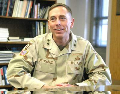 Petraeus as Major General, 2004